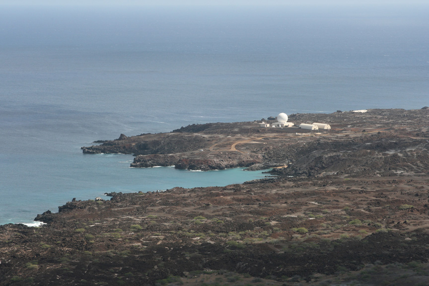 A distant view of Pyramid Point