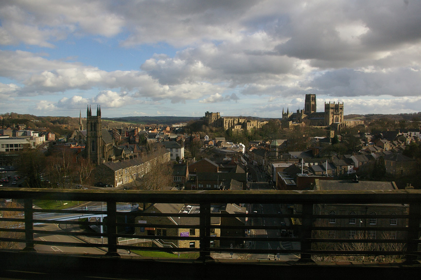 A glimpse of Durham