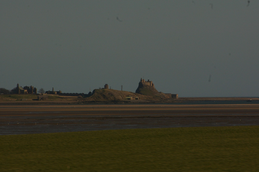 The historical and mystical Holy Island lies just out of my reach