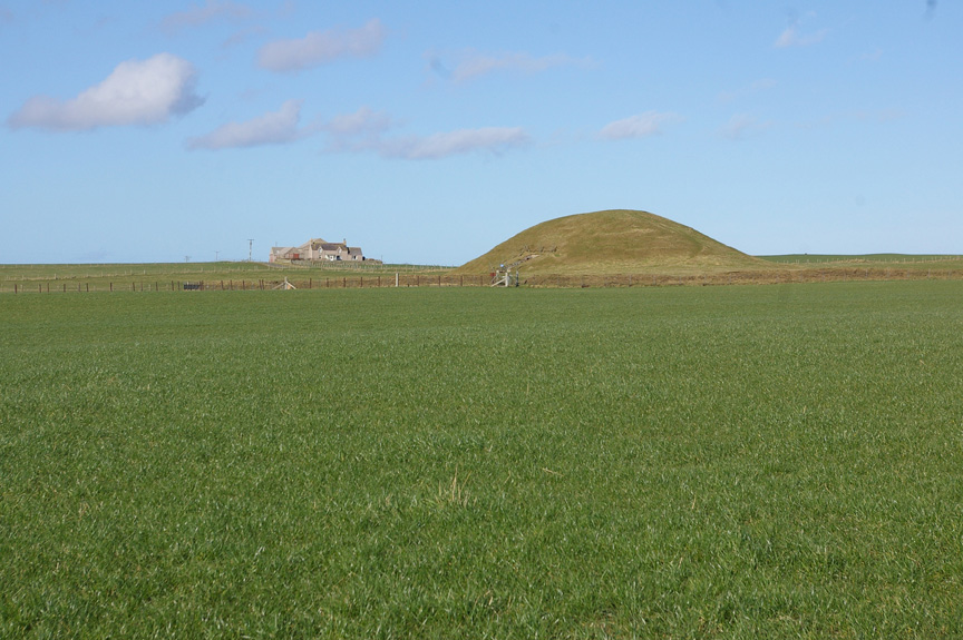 Unfortunately, I did not have time to explore the burial mound, Maeshowe