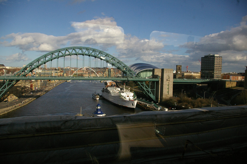 Newcastle's waterfront is a gateway to the North Sea and beyond