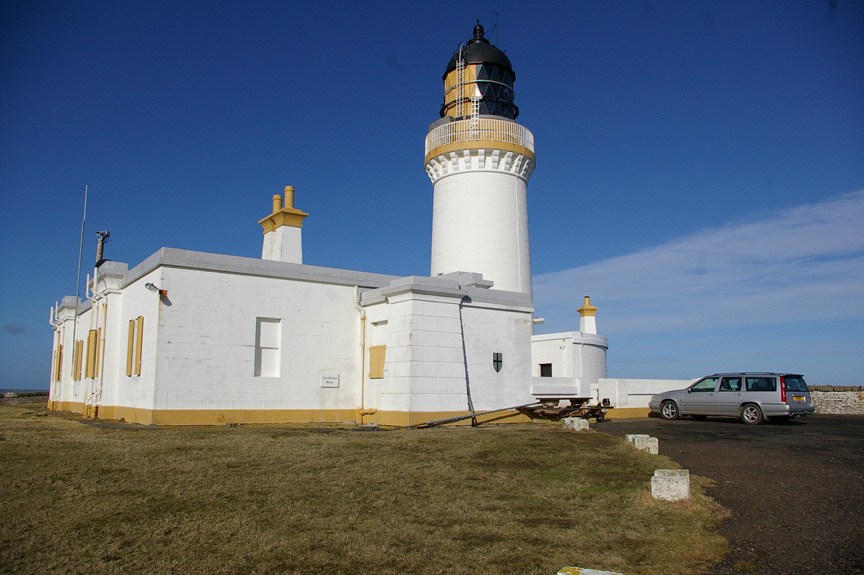 Noss Head Lighthouse, home of the Clan Sinclair Study Centre